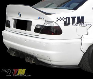 Find BMW E46 M3 GTR-S Race Rear Diffuser M3 2DR '01-'06 Carbon Fiber motorcycle in Northridge, California, United States, for US $1,295.00