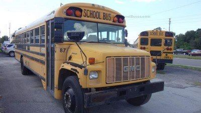 1997 GMC Bluebird Gasoline School Bus $7,500
