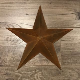 Small tin star