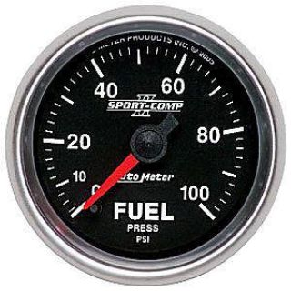 Buy AutoMeter 3663 Sport Comp II Elec Fuel Pressure Gauge motorcycle in Suitland, Maryland, US, for US $232.02