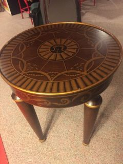 Round End Side Table