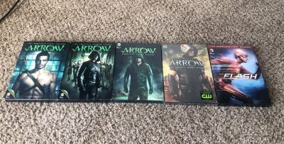 Arrow Season 1-4 The Flash Season 1