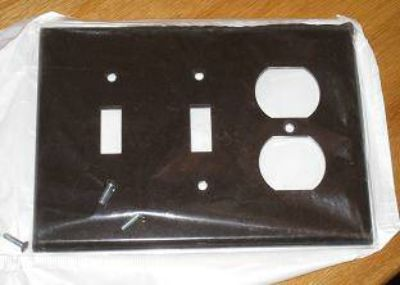 3 GANG PLATE COVER
