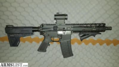 For Sale: AR-15 300 blackout Aero precision pistol with CNC Trigger