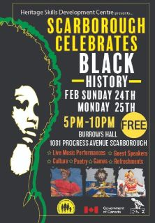 Scarborough Celebrates Black History