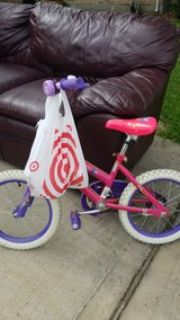 Toddler Bike/Training Wheels