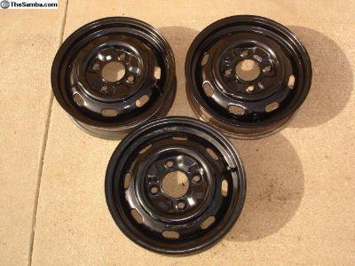 VW 4 Lug Wheels