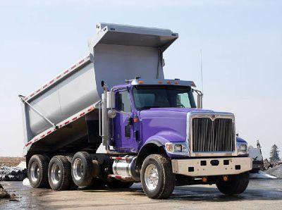 Dump truck loans for (A through D) credit types