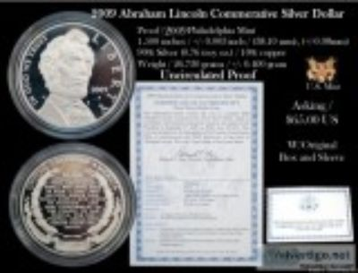 US Mint Lincoln Uncirculated Proof