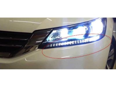 Buy Xenon White LED Light Headlights strip bulbs for 2013 and up Honda Accord 4dr motorcycle in Miami, Florida, US, for US $22.98