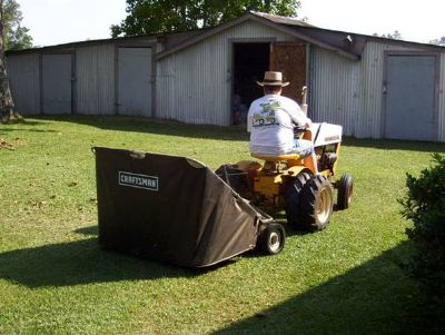 Craftsman 42 High Speed Tow-Behind Lawn Sweeper $165OBO