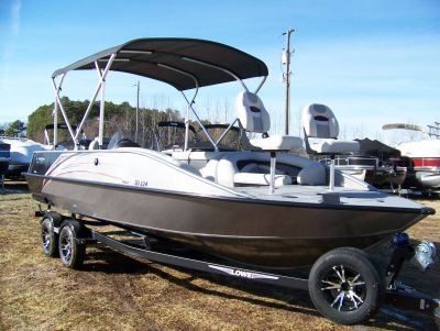 2020 Lowe SD224 POWERED BY MERCURY 200L 4S & TRAILER Deck Boats West Plains, MO