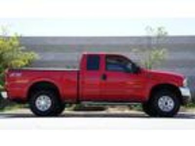 FORD F-250 Red