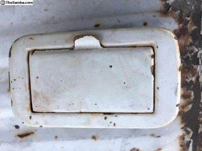 Original paint Bus ash tray Pearl White 64-67