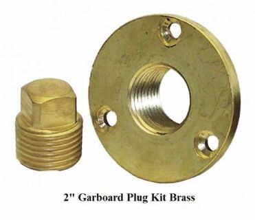 """Sell SHORELINE MARINE 2"""" GARBOARD TRANSOM DRAIN PLUG KIT BRASS FOR BOAT SL52177 motorcycle in Port Saint Lucie, Florida, United States"""