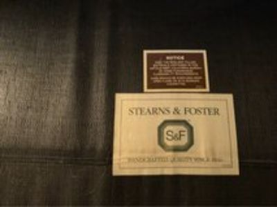 Sleeper sofa (Stearns and Foster)