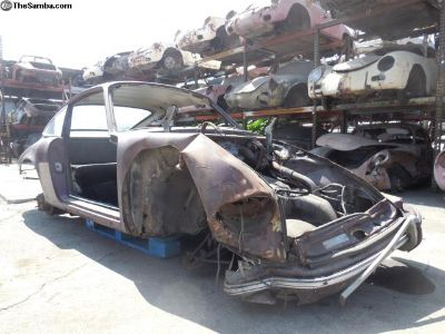 1969 Porsche 912 Non-Sunroof Coupe Project Car for