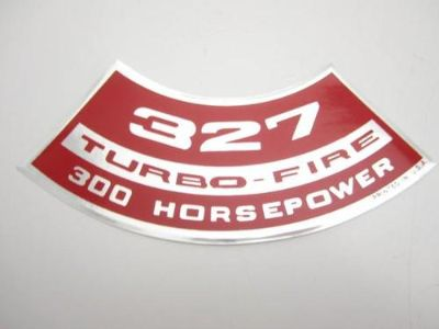 "Find Corvette NEW Air Cleaner Decal ""327 Turbo-Fire 300 Horsepower"" 1968 USA Printed motorcycle in Livermore, California, US, for US $8.68"