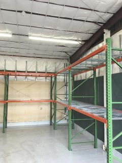 Racking for Baby Diapers, Cribs, Toys, Car Seats