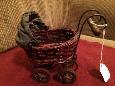 Miniature Doll Carriage