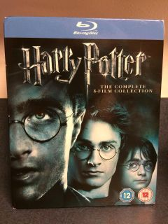 Harry Potter Blu-Ray 8-Film Complete Collection