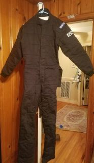 Black Sparco Jade 2 Racing Suit