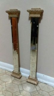 (2) MIRRORED WALL DECOR......EXCELLENT CONDITION