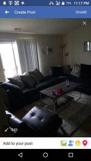 Living Room Sectional 2 piece