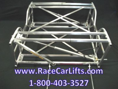 Aluminum Late Model and Modified Race Car Lift