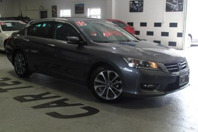 2015 Honda ACCORD SEDAN 4dr I4 CVT Sport (Modern Steel Metallic)