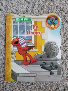 """The Library (from """"Where Is The Puppy?"""" book series)"""