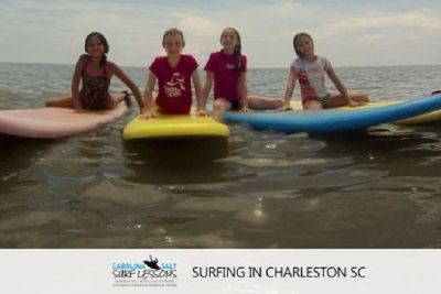 Surfing in Charleston SC