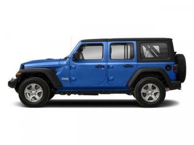 2018 Jeep Wrangler Unlimited Sahara (Ocean Blue Metallic Clearcoat)