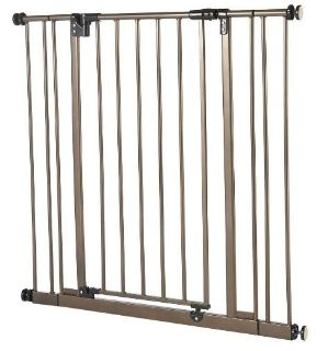 "Baby Gate / Dog Gate / Safety Gate - Fits 28""-38.5"" Openings, 28"" Tall"
