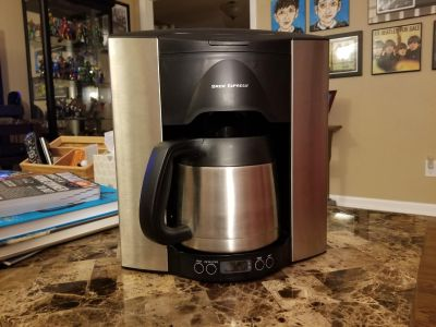Brew Express BE 110 BS 10 Cups Programmable Coffee Maker - Stainless