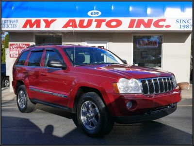 2005 Jeep Grand Cherokee Limited (Inferno Red Crystal Pearl)
