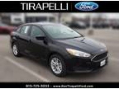 2018 Ford Focus Black, 14 miles
