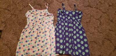 3T light weight summer dresses. Asking $4 for Both