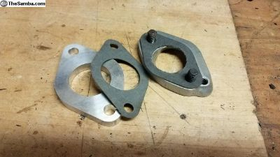 Solex carb. spacer, adapter, and gaskets