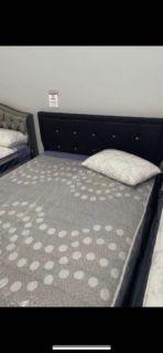 Black Diamond Polyfiber Bed Frame
