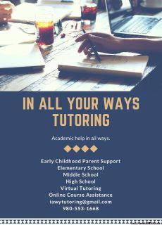 Teacher offering Tutor services