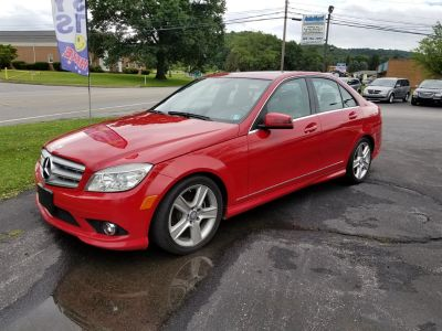 2010 Mercedes-Benz C-Class C300 4MATIC Sport (Red)