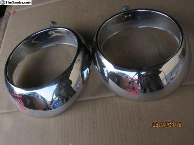 porsche headlight rings #17 A&B