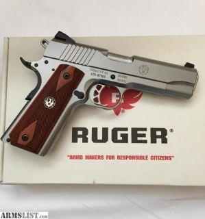 For Sale/Trade: Ruger SR1911 SS Commander