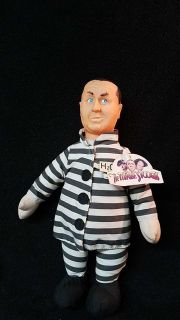 Vintage the three stooges doll still with tag