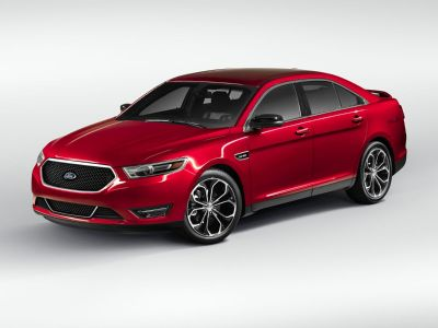 2018 Ford Taurus SHO (White Platinum)