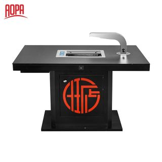 AOPA Steel Hot Pot and Korean BBQ Grill Table 2 in 1 Z67B-1