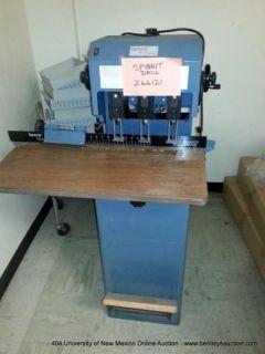 University of New Mexico Print Shop Equipment Online Auction