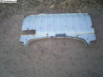 1965-70 Beetle Rear shelf patch section