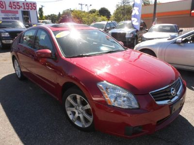 2007 Nissan Maxima 3.5 SE (Red)